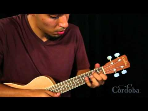 All Of Me - Córdoba 15CM Concert-Sized Ukulele Demo by Carlos Gallardo-Candia