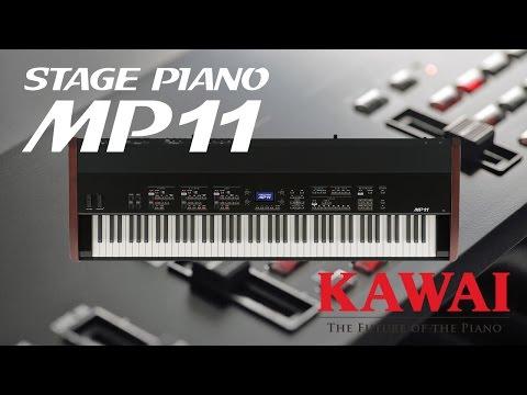 KAWAI MP11 stage piano demo - ENGLISH