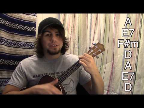 The easy way to play Wagon Wheel on ukulele!