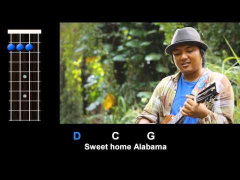 """Sweet Home Alabama"" (Lynyrd Skynyrd) - Ukulele Play-Along!"