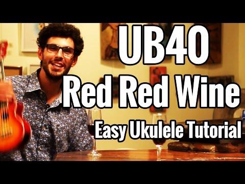 Red Red Wine - Ukulele Tutorial - UB40 Uke Lesson