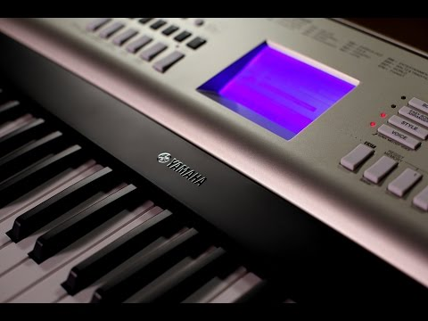 Yamaha YPG-535 Portable Grand Keyboard - Demo