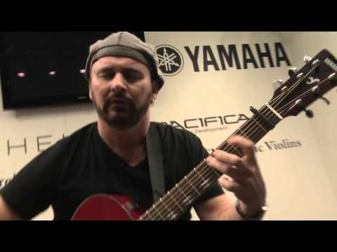 Yamaha FSX800C Acoustic Guitar - Musikmesse 2016