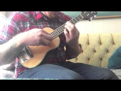 Mitchell Concert Ukulele MU-70 Testdrive - Suzanne - Weezer - Instrumental - Johnny Foodstamp
