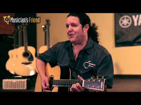 Yamaha L Series Acoustic Guitars