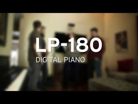 KORG LP-180 is a standard slim digital piano with a rich and authentic grand piano sound
