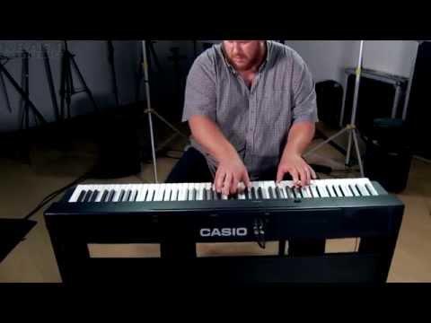 Kraft Music - Casio Privia PX-160 Digital Piano Demo with Adam Berzowski