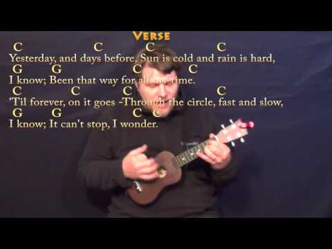 Have You Ever Seen the Rain (CCR) Ukulele Cover Lesson with Chords/Lyrics