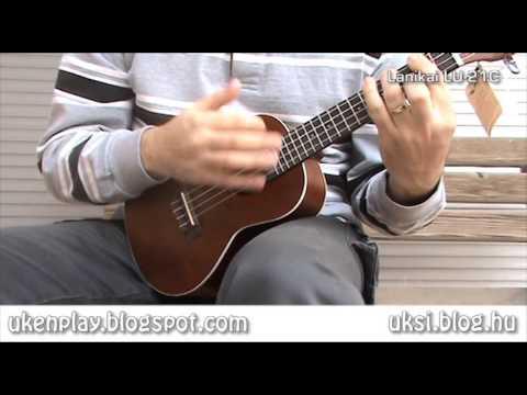 Lanikai LU-21C concert ukulele - soundcheck