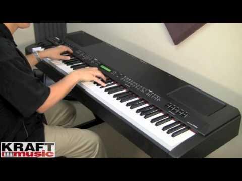Kraft Music - Yamaha CP300 Stage Piano Demo with Tony Escueta