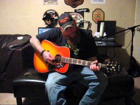 Cody Newby on the Epiphone Hummingbird Pro
