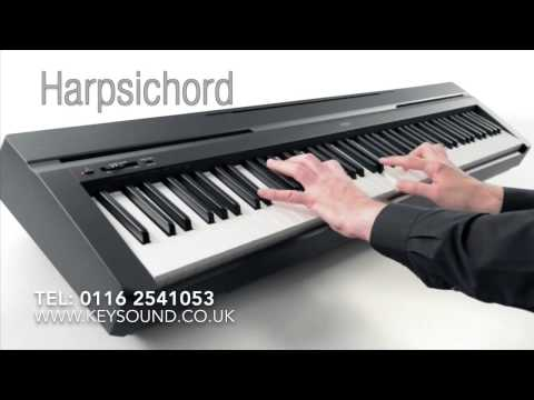Yamaha P-45 Digital Piano Demo