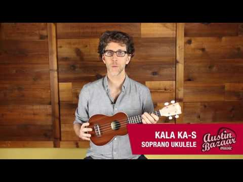 Kala KA-S Soprano Ukulele Demo