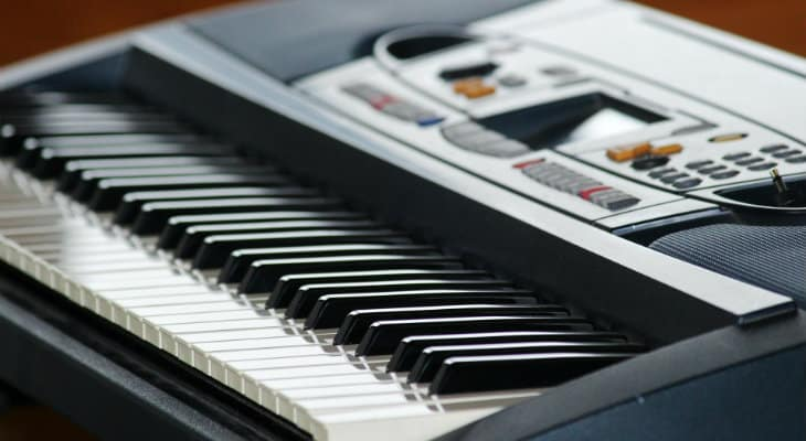 digital piano or keyboard